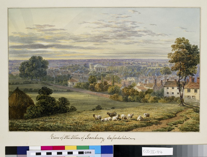 View of the Town of Banbury, Oxfordshire (WA.Suth.C.2.44.4)