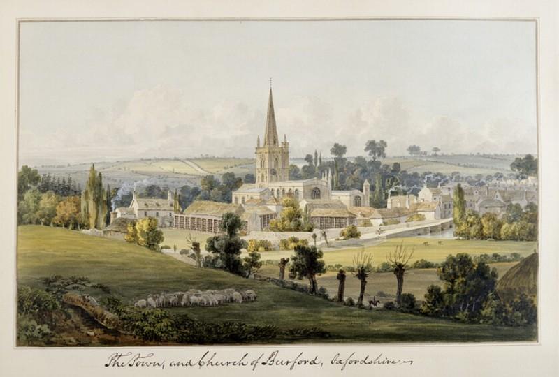 View of Burford, Oxfordshire (WA.Suth.C.3.281)