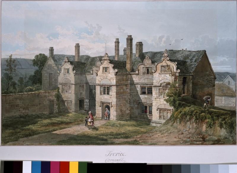 View of Trerice, Cornwall (WA.Suth.C.3.30.11)