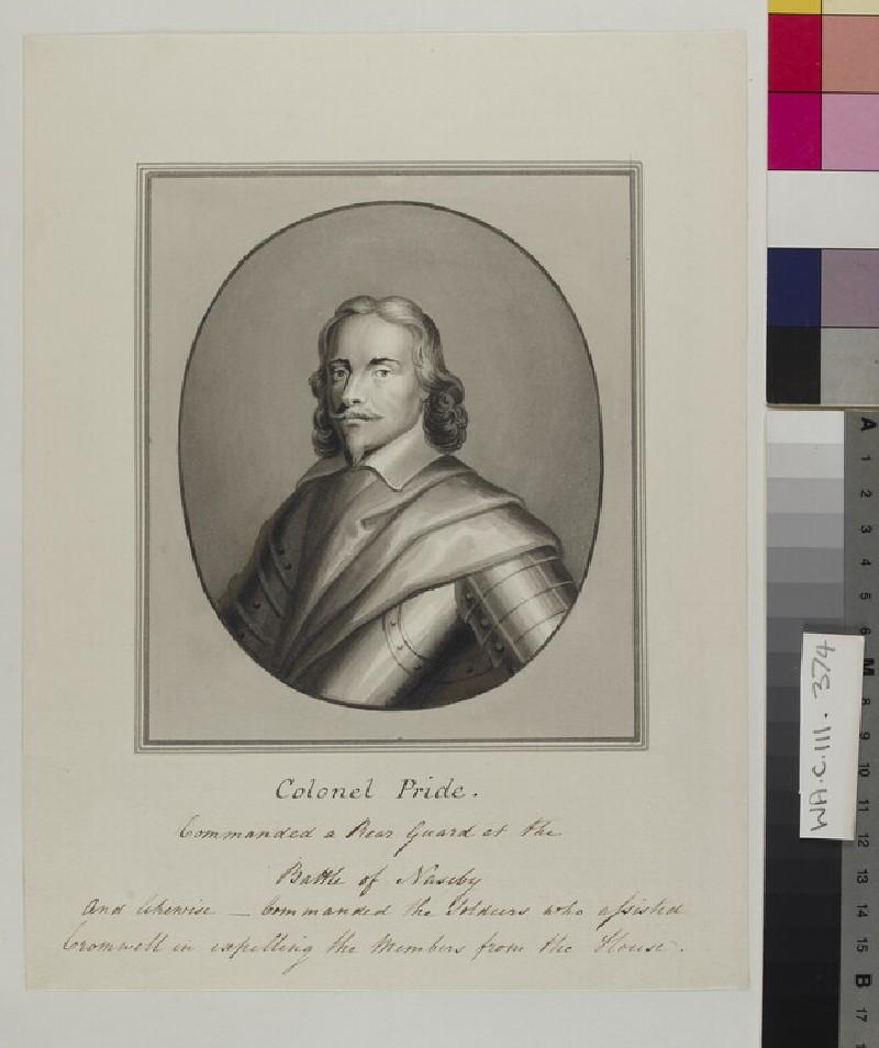 Copy of a Portrait of Colonel Pride