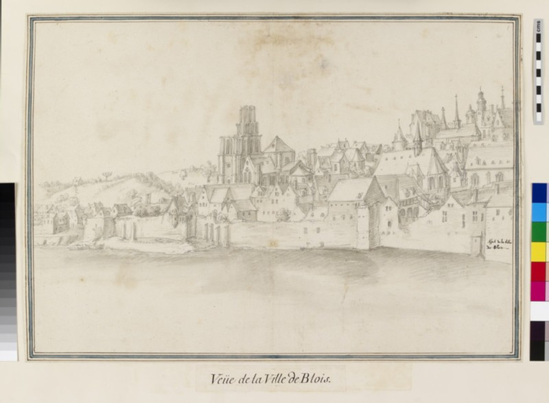View of Blois from across the River (WA.Suth.L.2.105)
