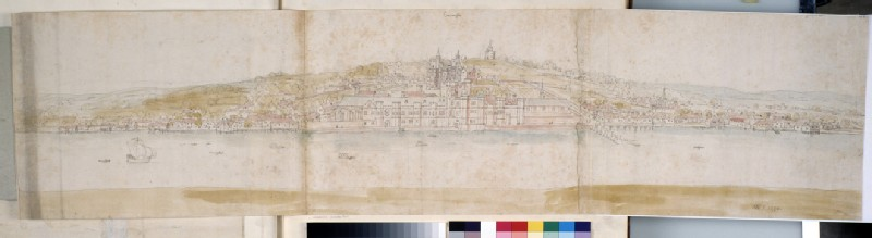 Greenwich Palace from the North Bank of the Thames (WA.Suth.L.4.8.1)