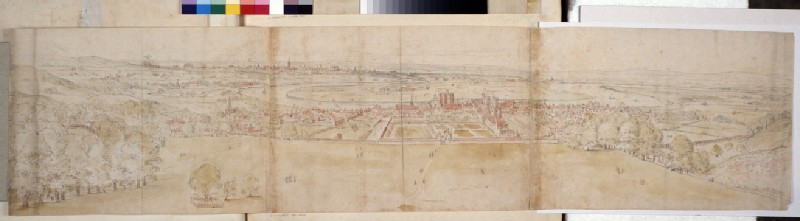 Greenwich Palace and London from Greenwich Hill (WA.Suth.L.4.8.2)