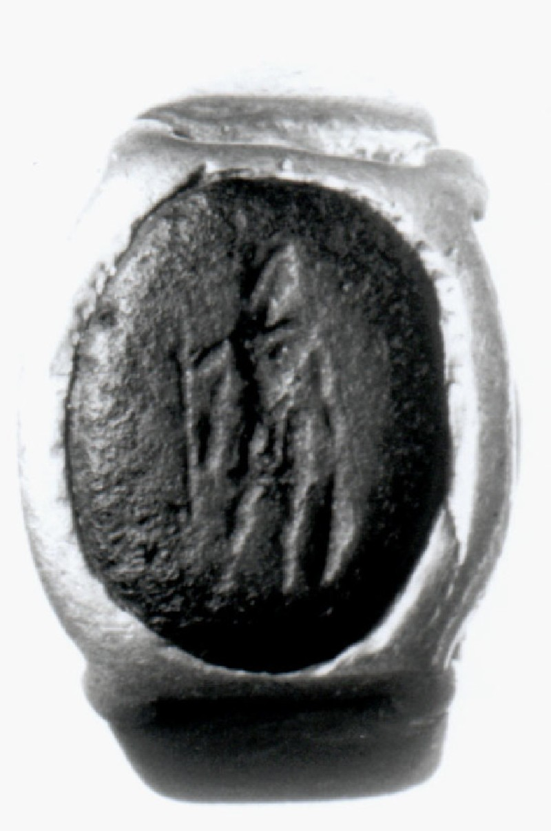 Intaglio gem with depiction of Ares
