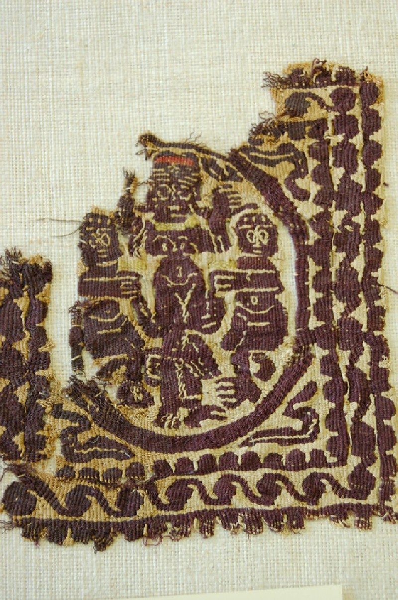 Tapestry fragment (AN1888.1184, record shot)
