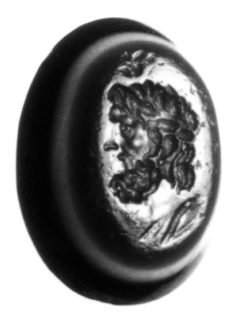 Intaglio gem, Zeus (AN1892.1270, record shot)