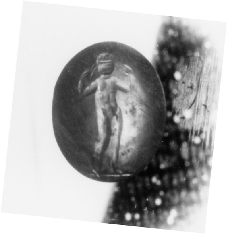 Intaglio gem, Athlete (AN1892.1272, record shot)