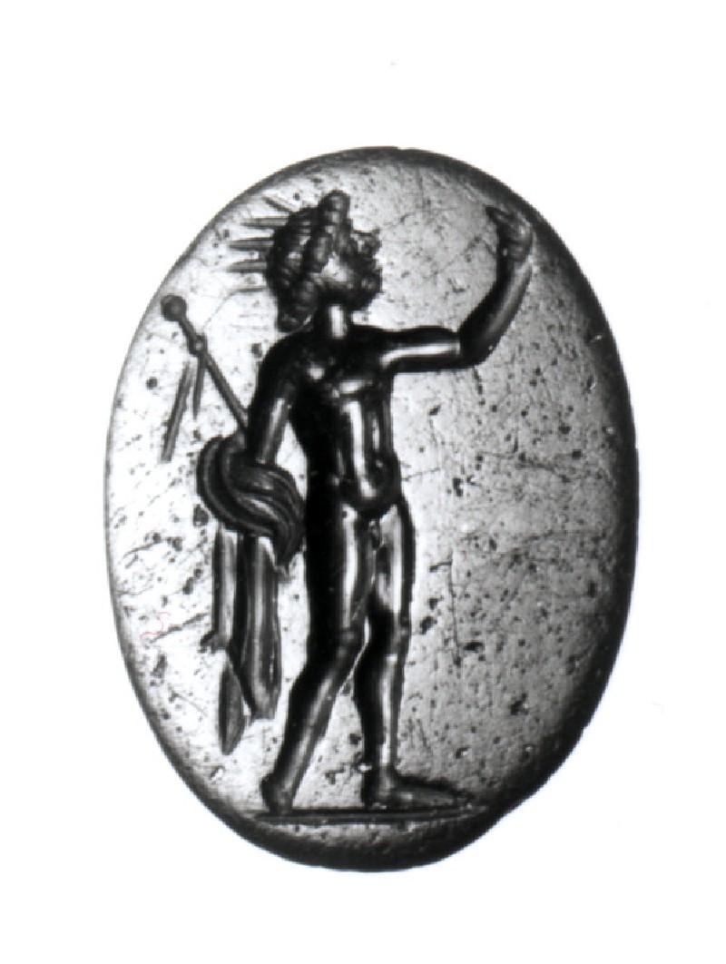Intaglio gem depicting Helios (AN1892.1279, record shot)