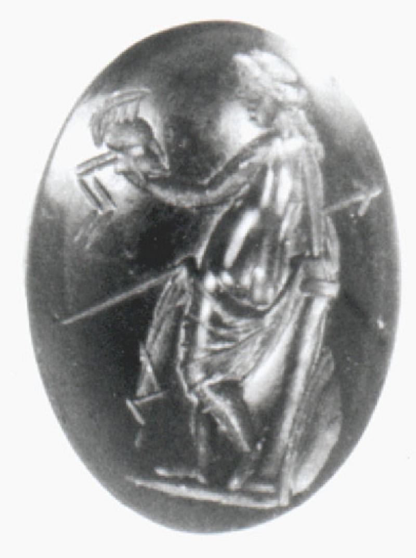 Aphrodite gem, Venus Victrix type