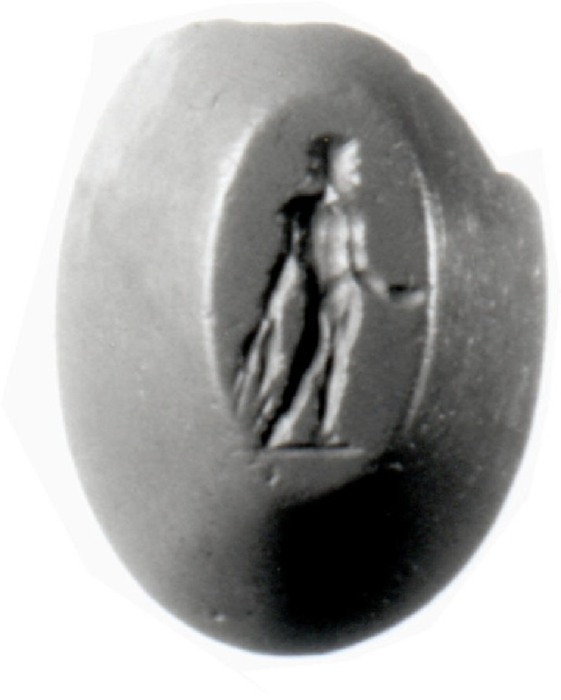 Intaglio gem, Aphrodite and Triptolemos