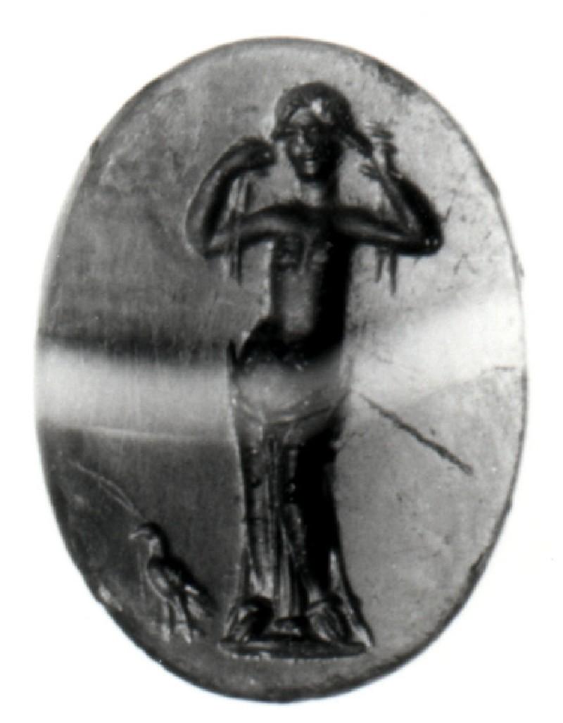 Intaglio gem, Aphrodite (AN1892.1432, record shot)