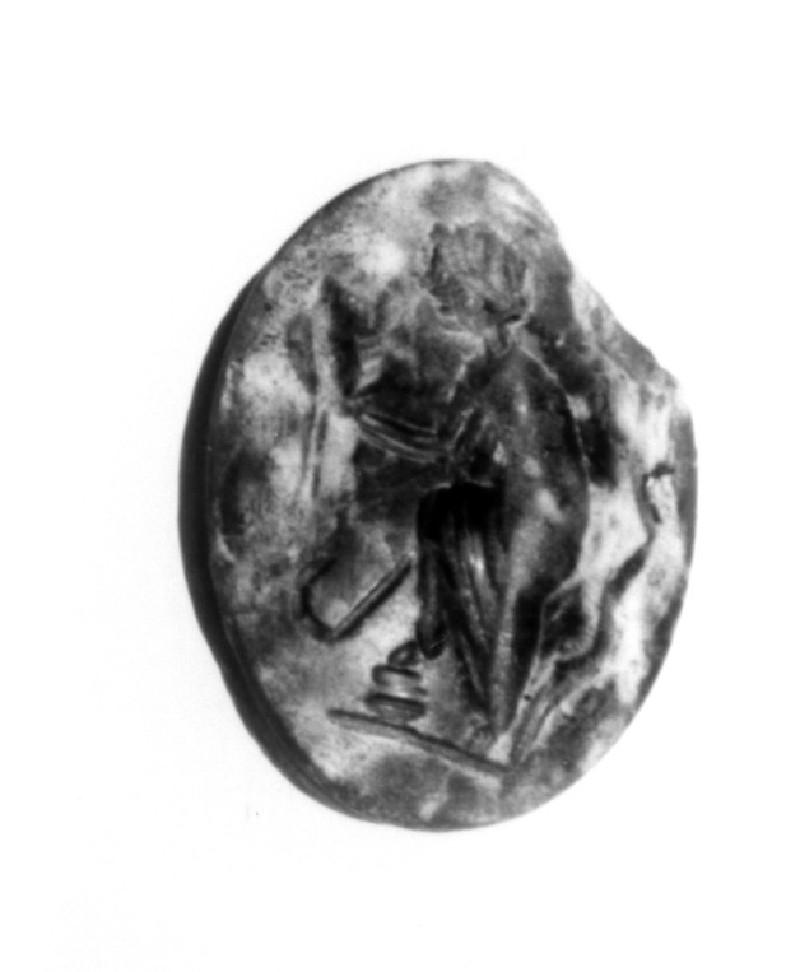 Intaglio gem, the Muse Thalia