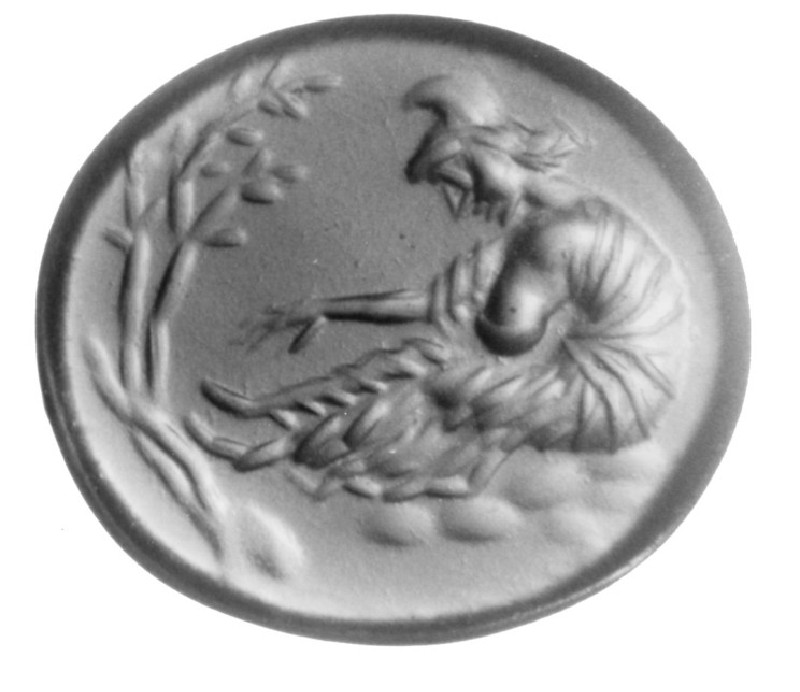 Intaglio gem, Phrygia (AN1941.329, record shot)