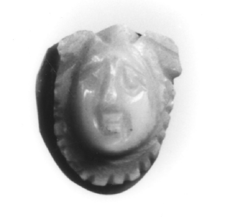 Cameo depicting the head of Medusa