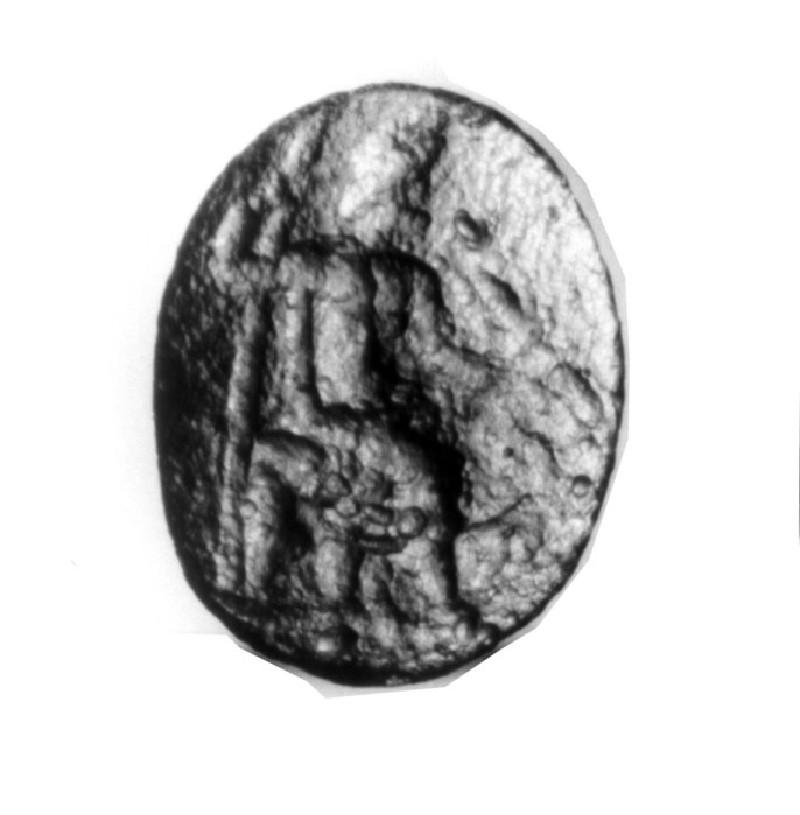 Intaglio gem, Zeus (AN1941.472, record shot)