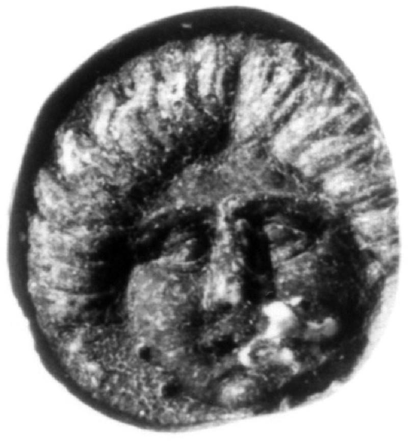 Intaglio gem, head of Medusa (AN1941.498, record shot)
