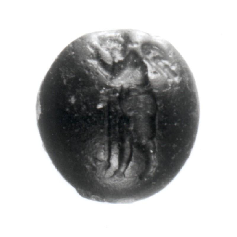 Intaglio gem, Eros (AN1941.513, record shot)