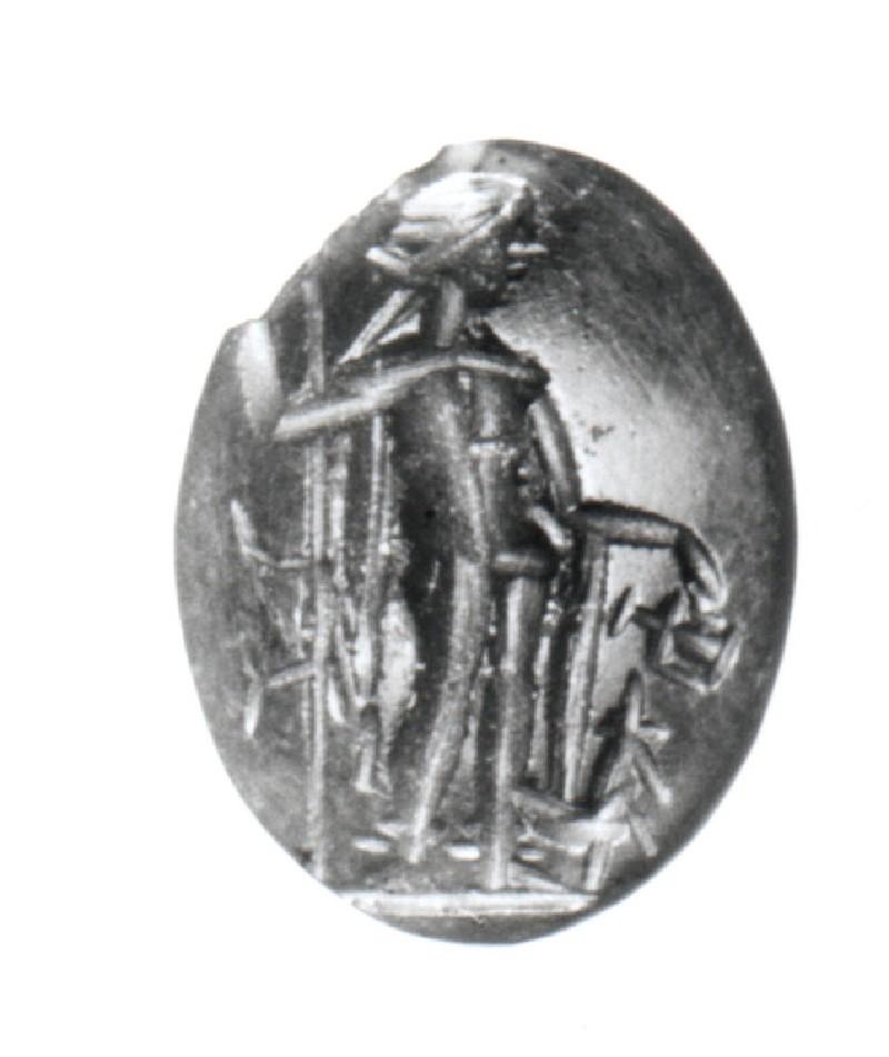 Intaglio gem, Dionysos (AN1941.565, record shot)