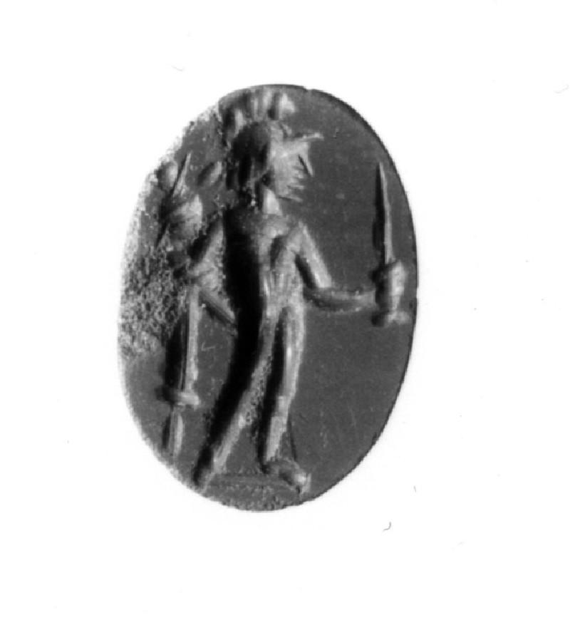 Intaglio gem, Diomedes
