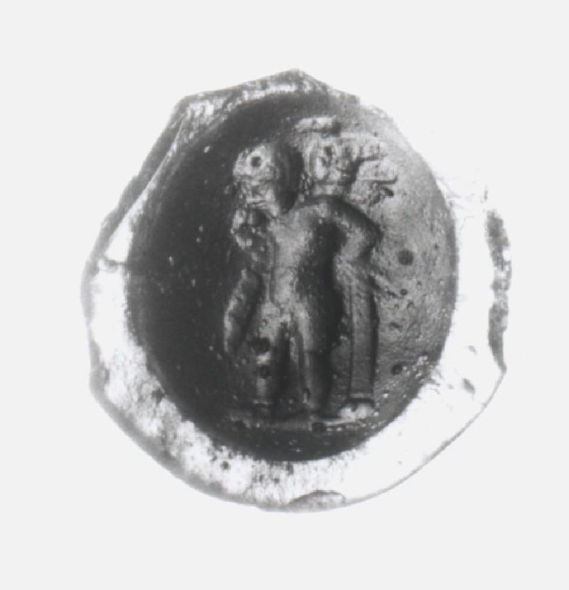 Intaglio gem, Eros (AN1941.579, record shot)