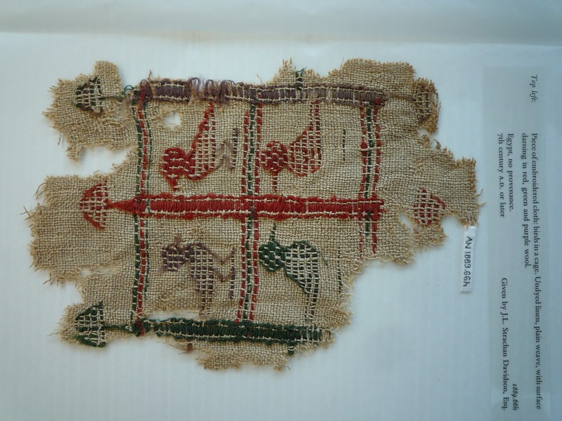 Textile fragment (AN1889.66.h, record shot)