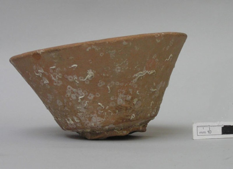 Red-slipped bowl