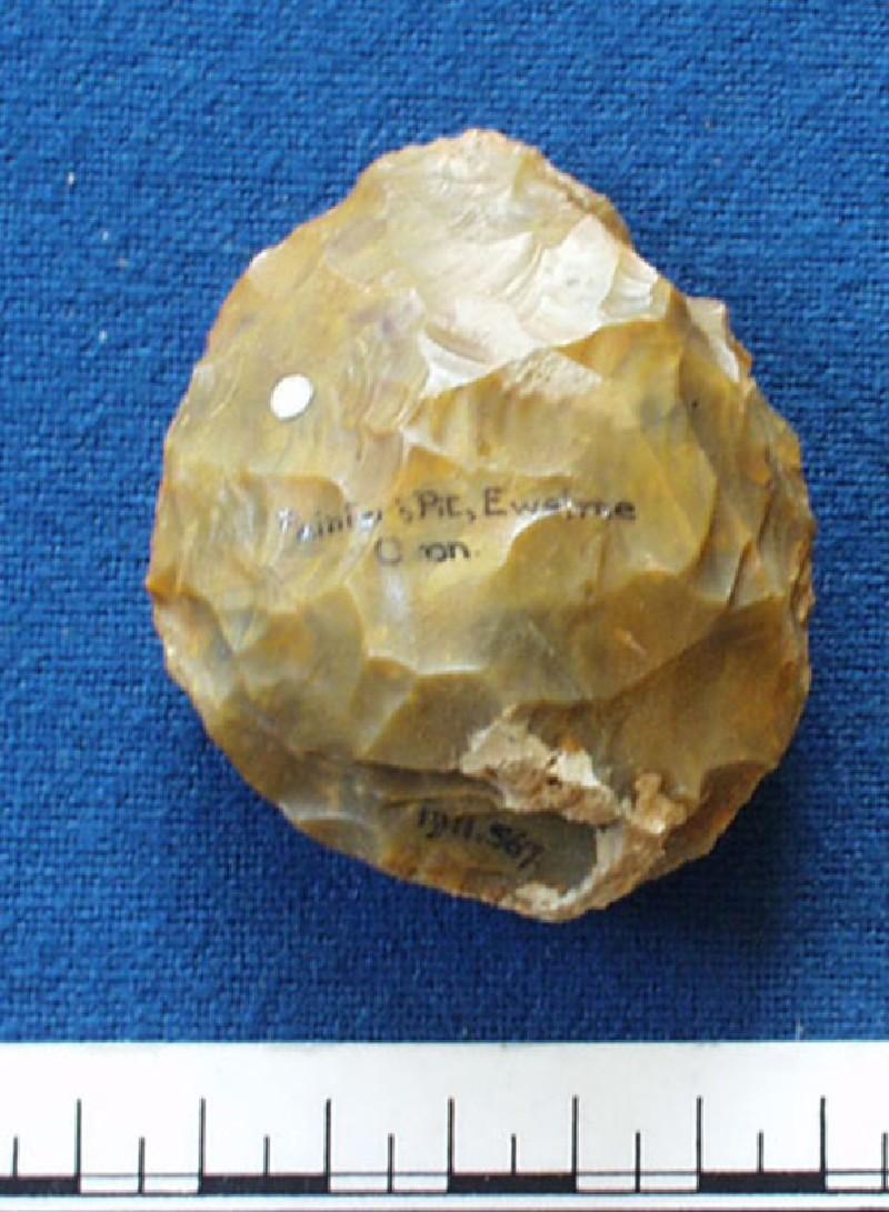 Acheulean handaxe (AN1911.567, record shot)