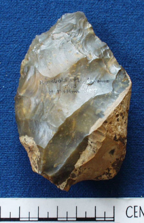 Acheulean handaxe (AN1917.15, record shot)