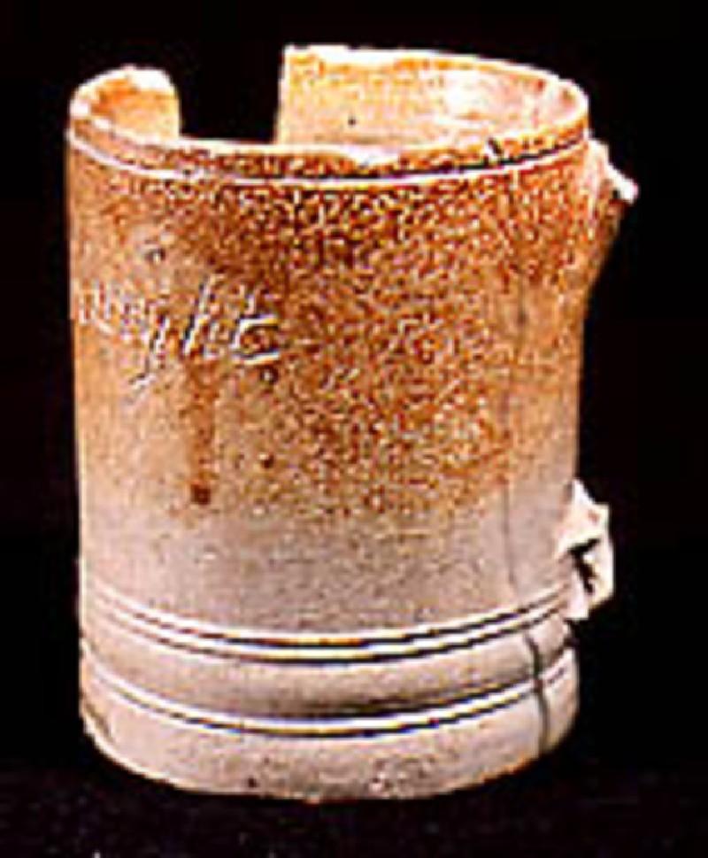 Cylindrical mug (AN1920.111, record shot)
