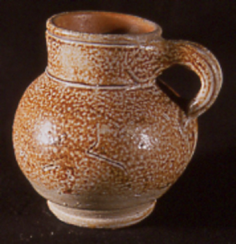 English stoneware drinking vessel (AN1921.228, record shot)