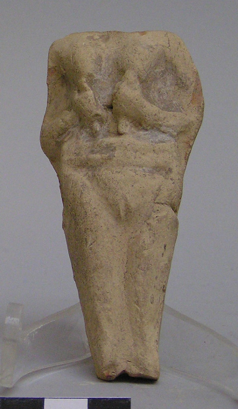 Fragment of a plaque with a female figurine (AN1923.383, record shot)