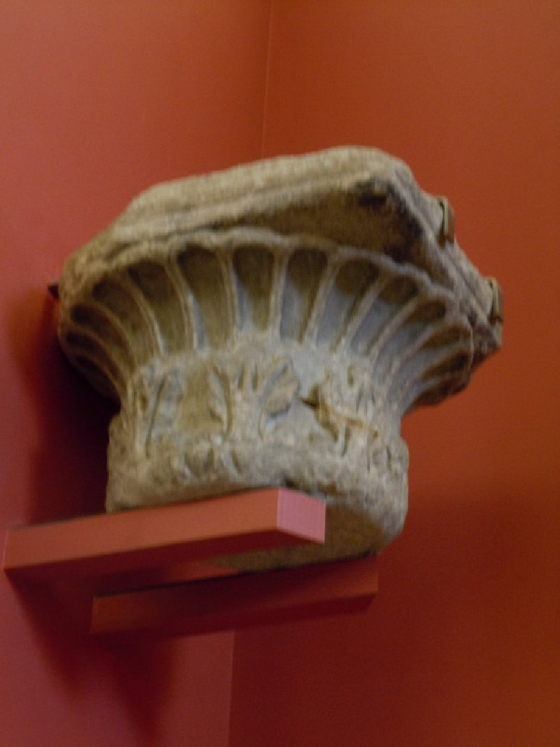 Fluting and acanthus capital