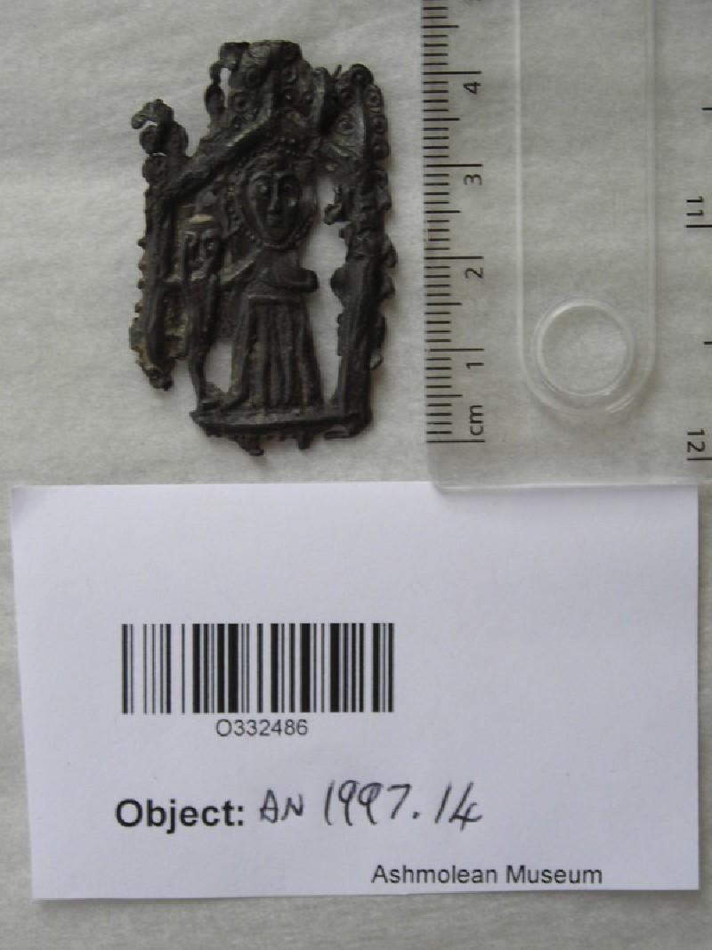 Pilgrim badge depicting John Schorne