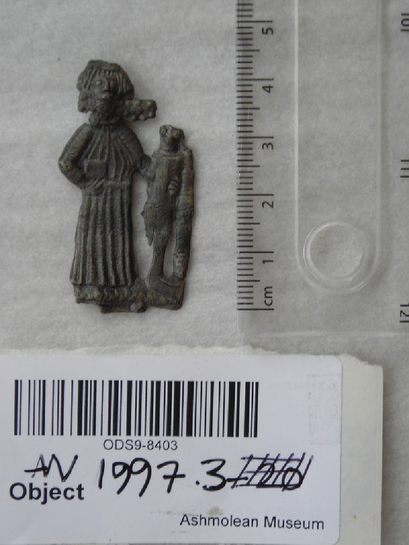 Pilgrim badge (AN1997.3, record shot)