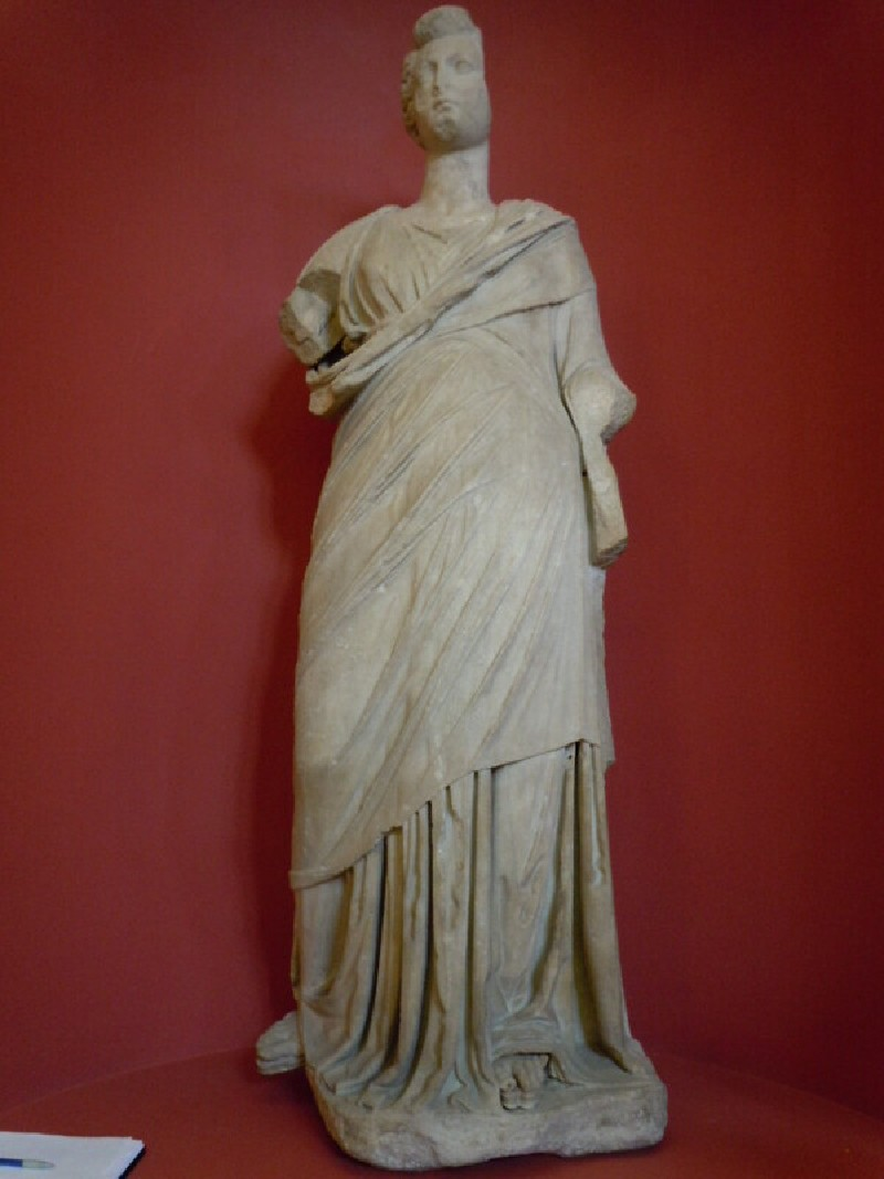Hellenistic statue of female, with Roman head (ANMichaelis.4, record shot)