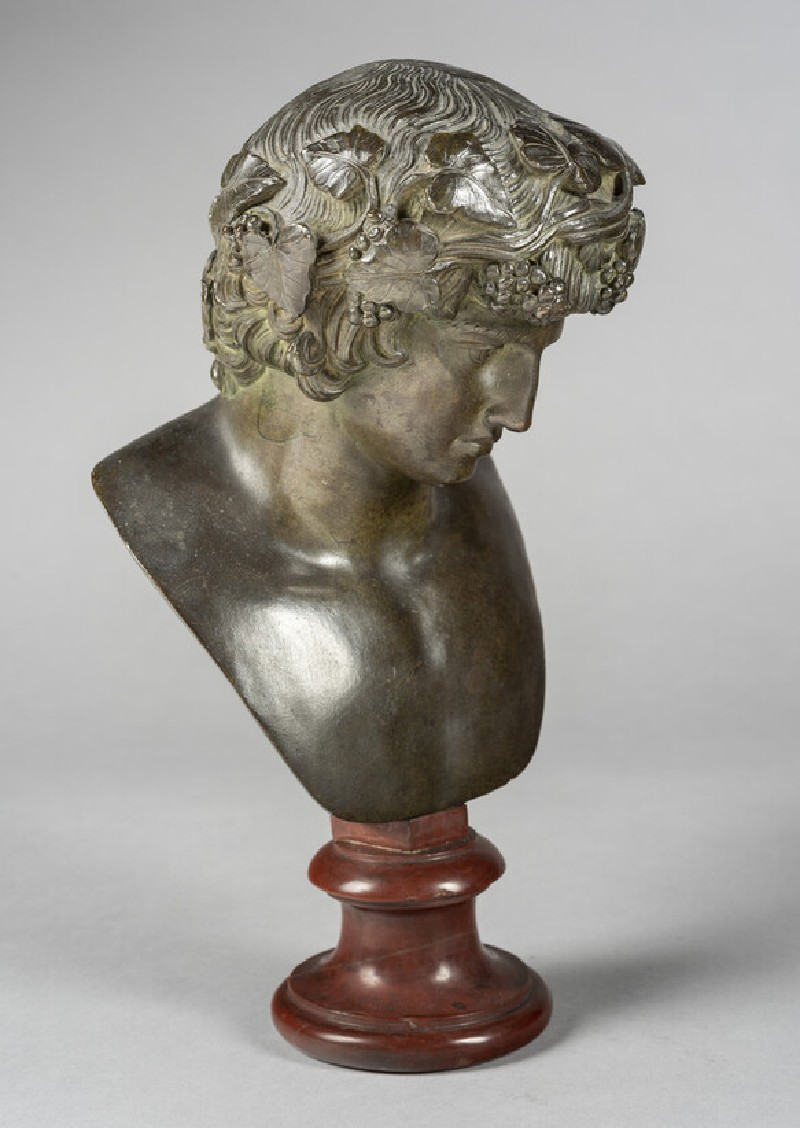 Bust of Bacchus (WA1889.CDEF.B404, record shot)