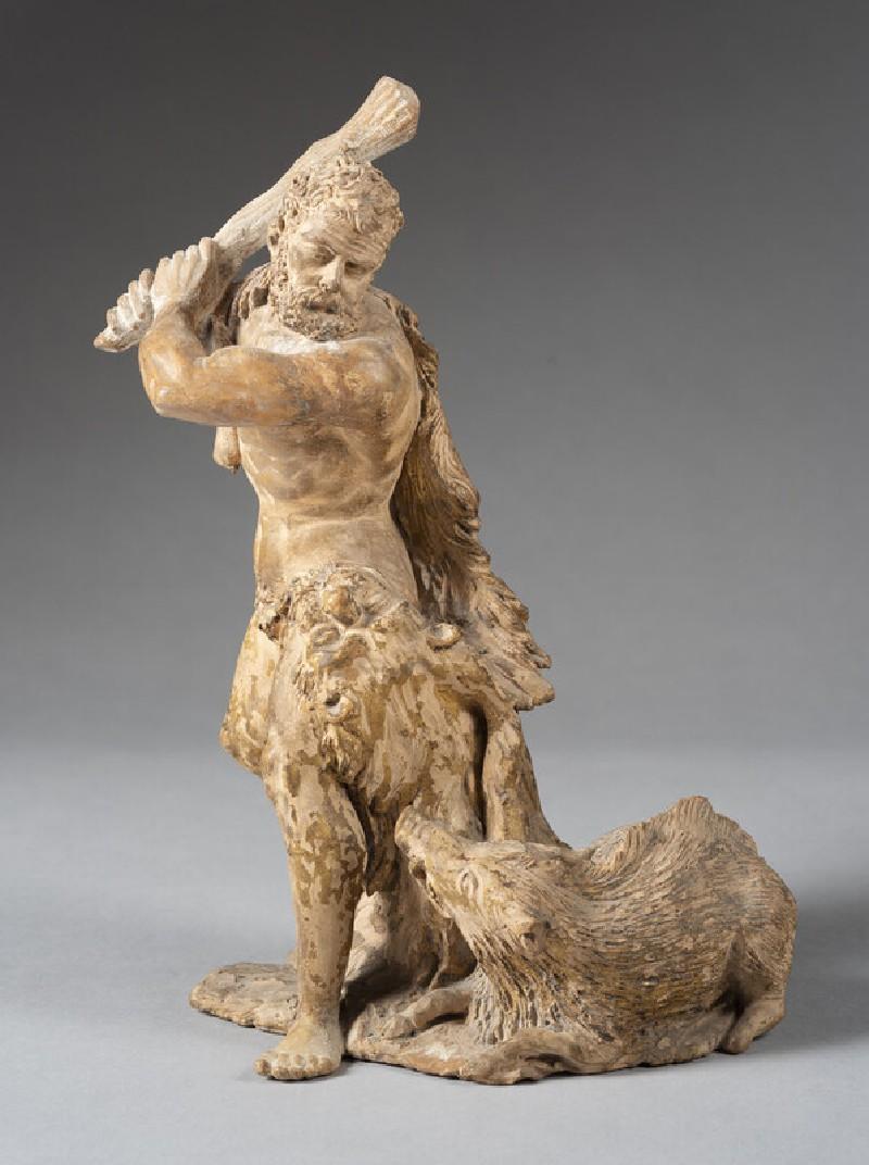 Hercules slaying the Erymanthian Boar (WA1960.72.1, record shot)