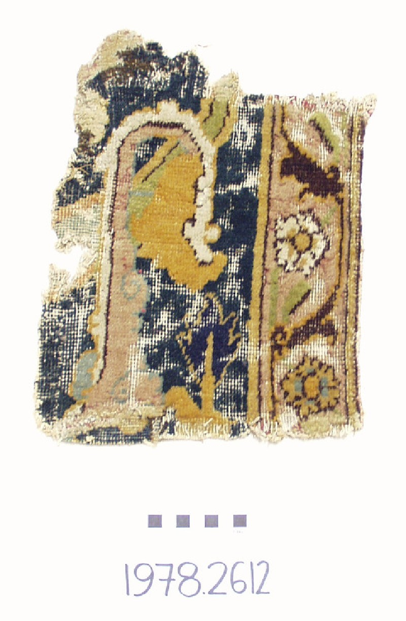 Carpet fragment (EA1978.2612, record shot)