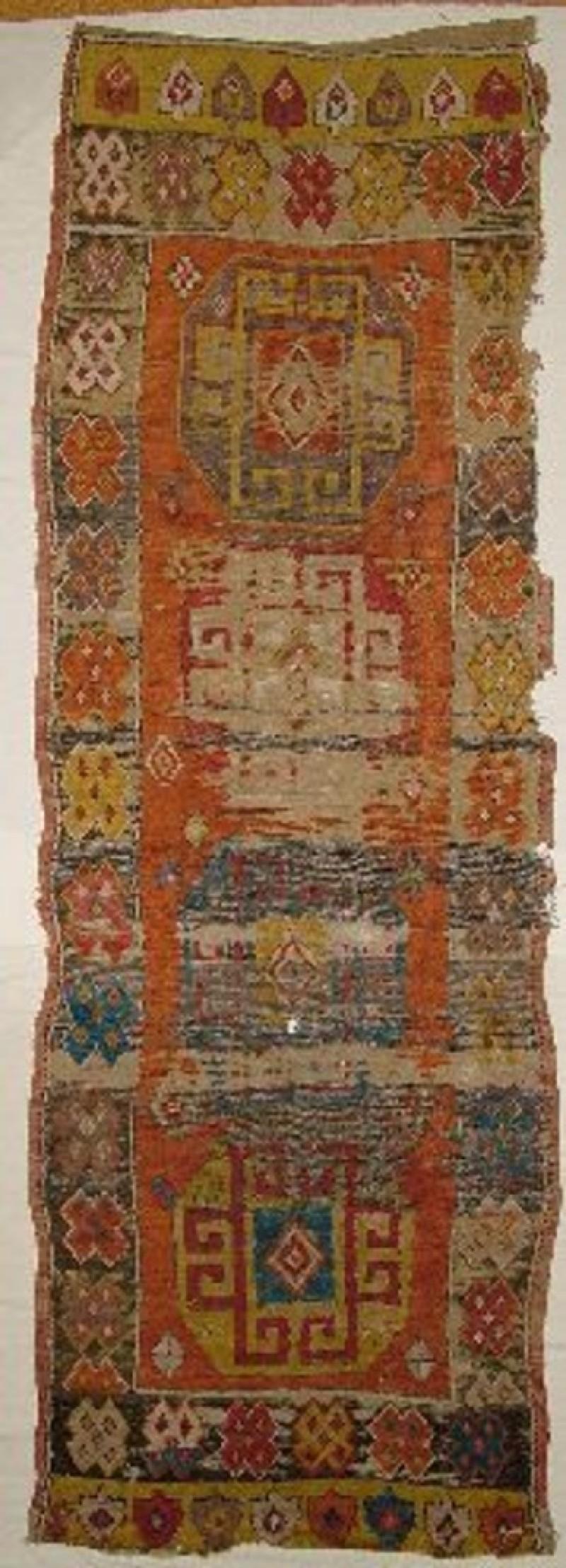 Pile carpet yatak rug (EA1998.55, record shot)