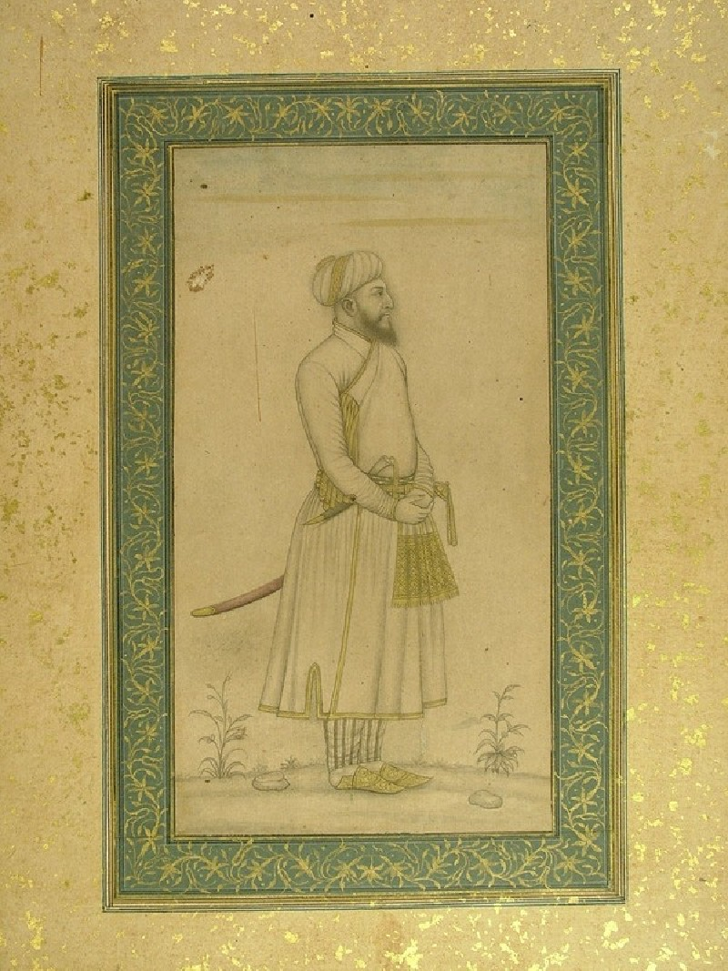 Portrait of a Mughal courtier