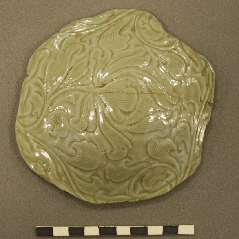 Fragment of a greenware vessel (EAP.1, record shot)
