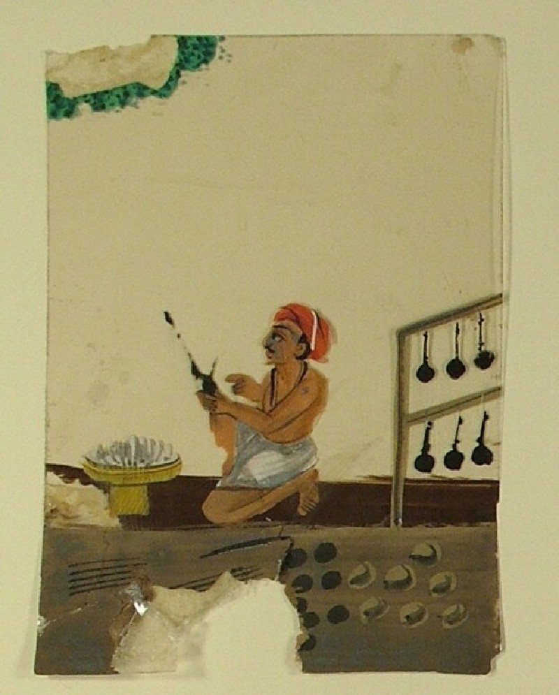 Portrait of an artisan (EA1968.40.i, record shot)