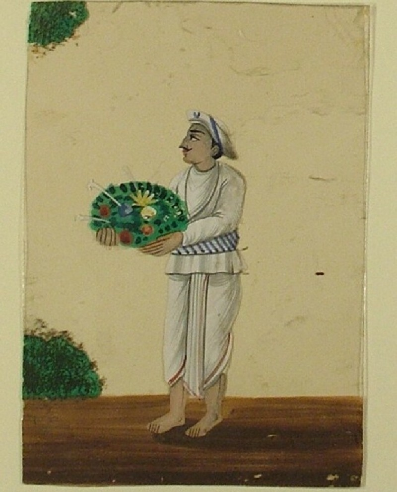 Portrait of a gardener or farmer (EA1968.40.x, record shot)