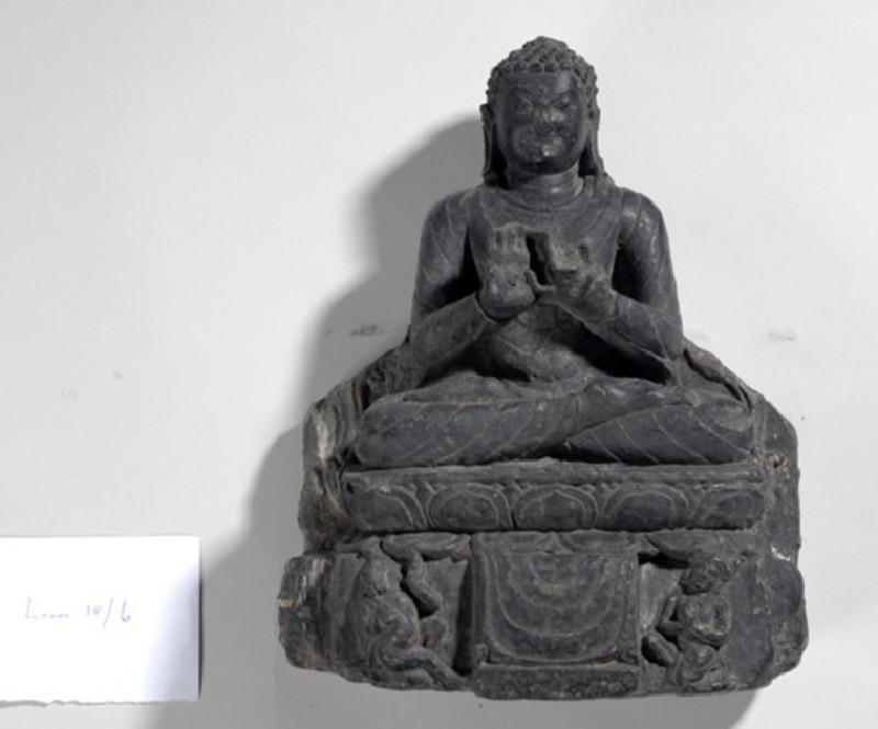Stone Buddha (EA2009.13, record shot)