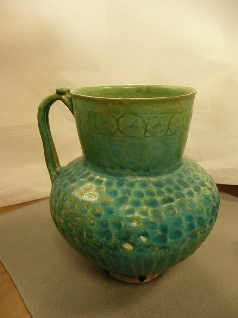 Jug with frieze of dots