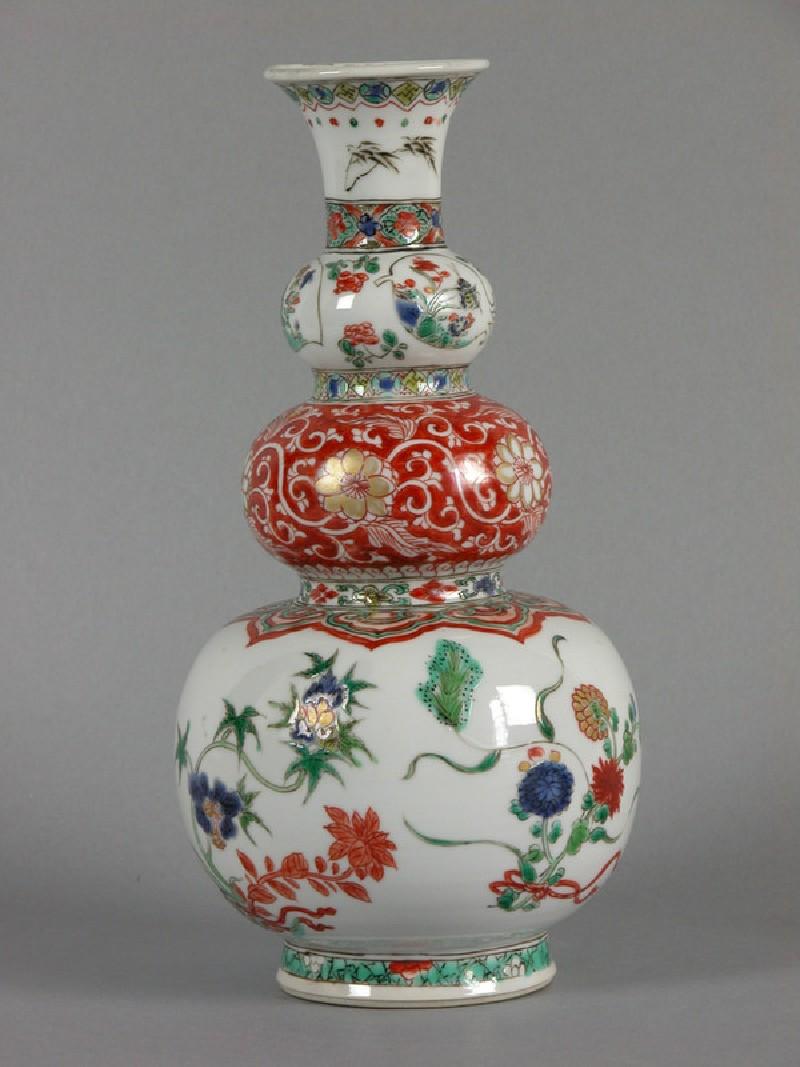 Triple gourd vase (EAX.1356, Title: <<Acc. No. as Title>>, record shot)