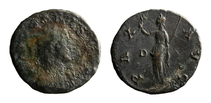 Medieval coin (HCR3687, record shot)