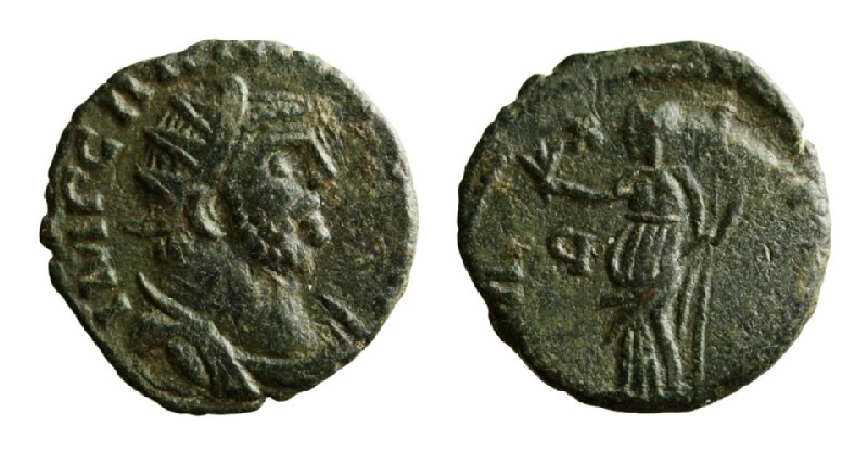 Medieval coin (HCR3692, record shot)