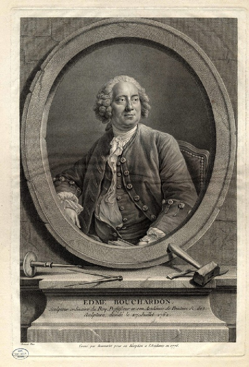 Portrait of Edme Bouchardon