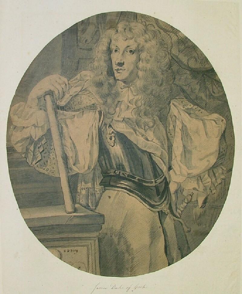 Portrait of James, Duke of York